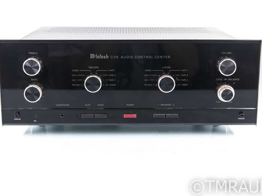 McIntosh C36 Stereo Preamplfiier; C-36; MM Phono (22026)
