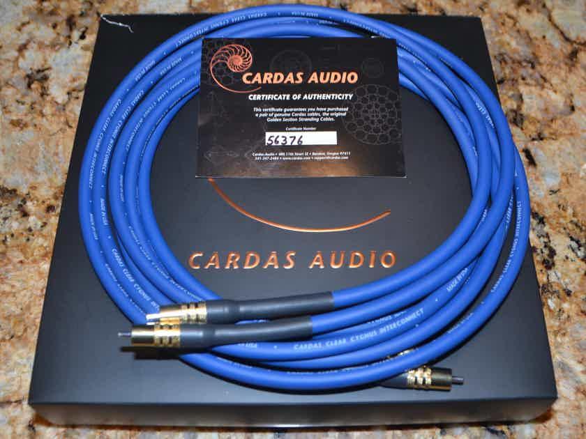 Cardas Audio Clear Cygnus Interconnects 2.5m (8 ft) RCA-RCA
