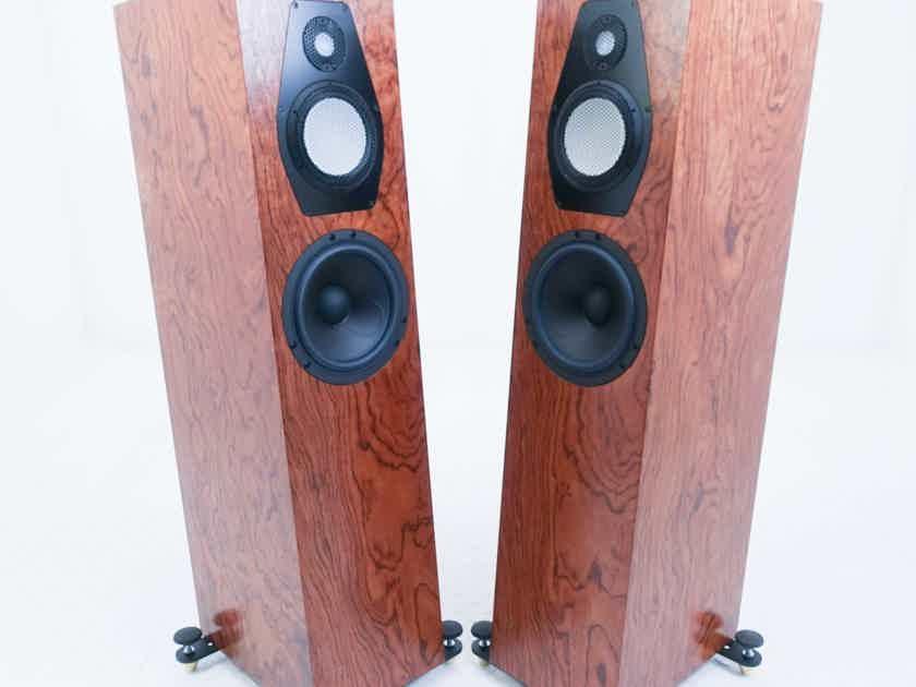 Clearwave Symphonia 1 Floorstanding Speakers; Walnut Burl Pair (15790)
