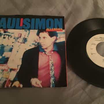 Paul Simon 45 With Picture Sleeve Vinyl NM  Allergies/T...