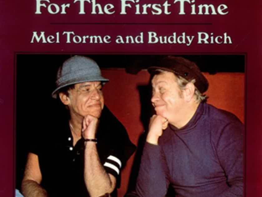 Mel Torme and Buddy Rich Together Again for the First Time - Direct to Disc