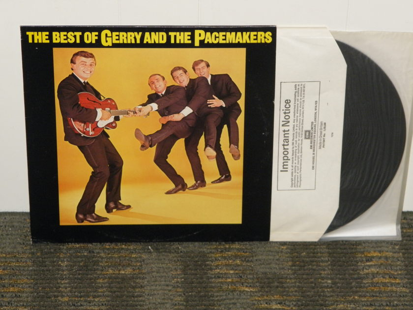 """Gerry And The Pacemakers - """"The Best Of Gerry And The Pacemakers"""" UK Import EMI  English pressing"""