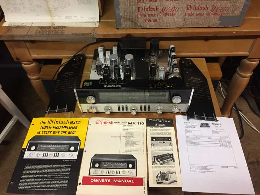 "McIntosh MX-110 ""Z"" - Excellent w/ Original Manuals & Box"
