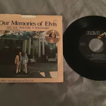 Elvis Presley  Are You Sincere (Unreleased Version) 45 ...