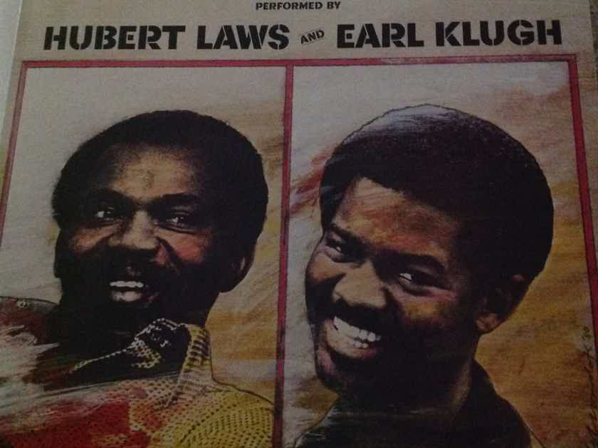 Hubert Laws & Earl Klugh - How To Beat The High Cost Of Living  Columbia Records White Label Promo Vinyl LP NM