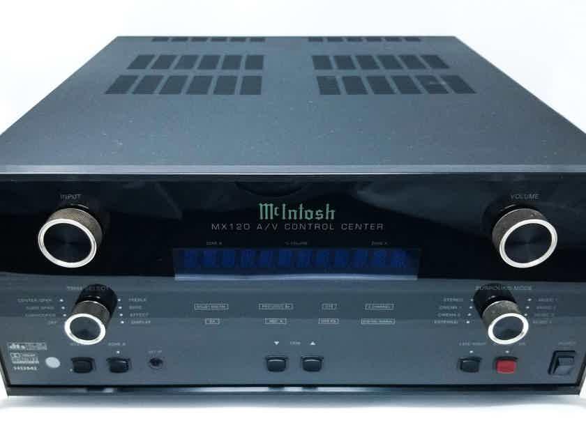 McIntosh MX120 Audio/Video Preamplifier Processor