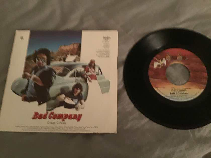 Bad Company  Rock N' Roll Fantasy 45 With Picture Sleeve