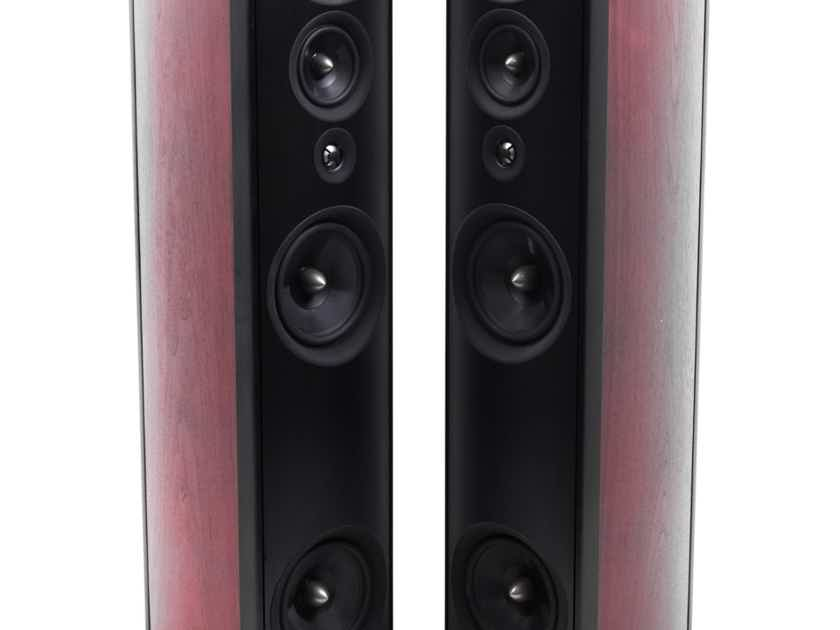 PSB Synchrony One Floorstanding Speakers; Dark Cherry Pair (21471)