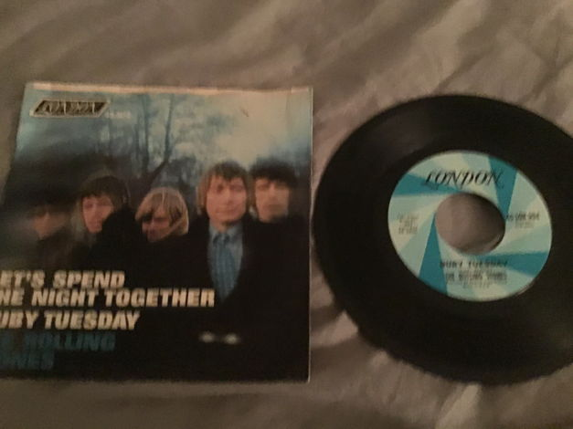 The Rolling Stones 45 With Picture Sleeve Vinyl NM