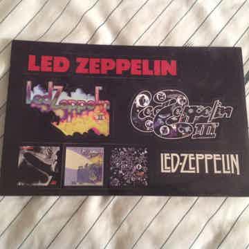Led Zeppelin  1/11/111 Atlantic Records Promo Sticker Set
