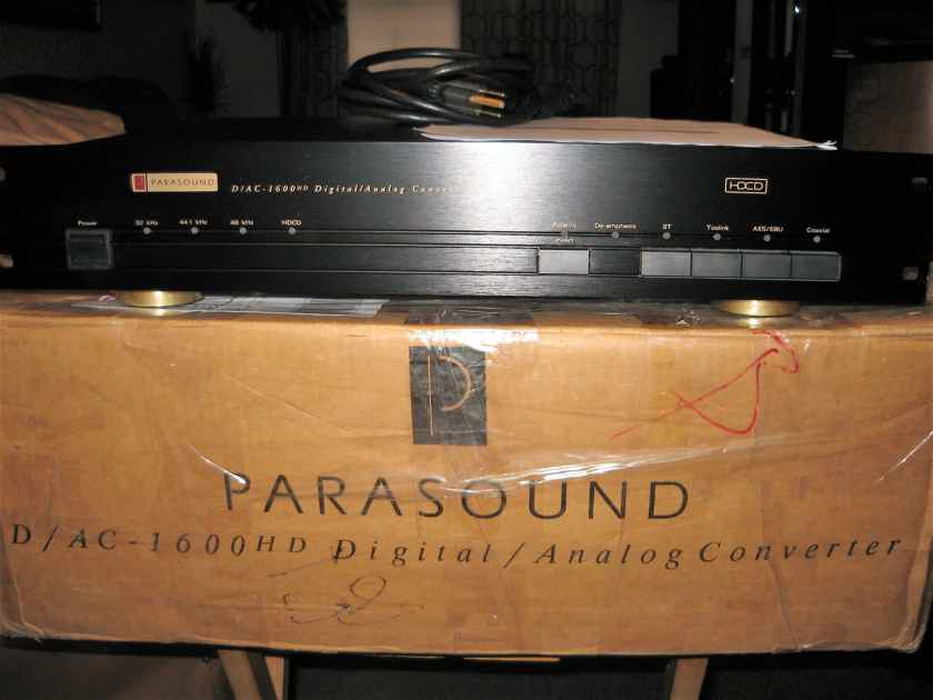 Pararsound D/AC 1600 HD Digital to Analog converter
