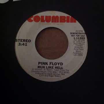 Pink Floyd - Run Like Hell Columbia Records Promo 45 Si...