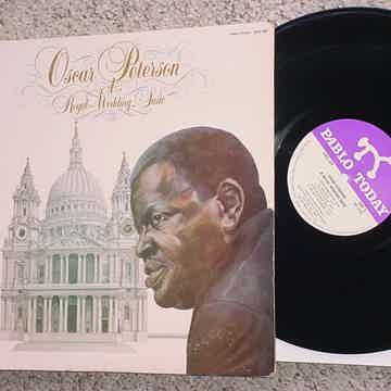 PABLO JAZZ Oscar Peterson lp record a Royal Wedding Suite 1981