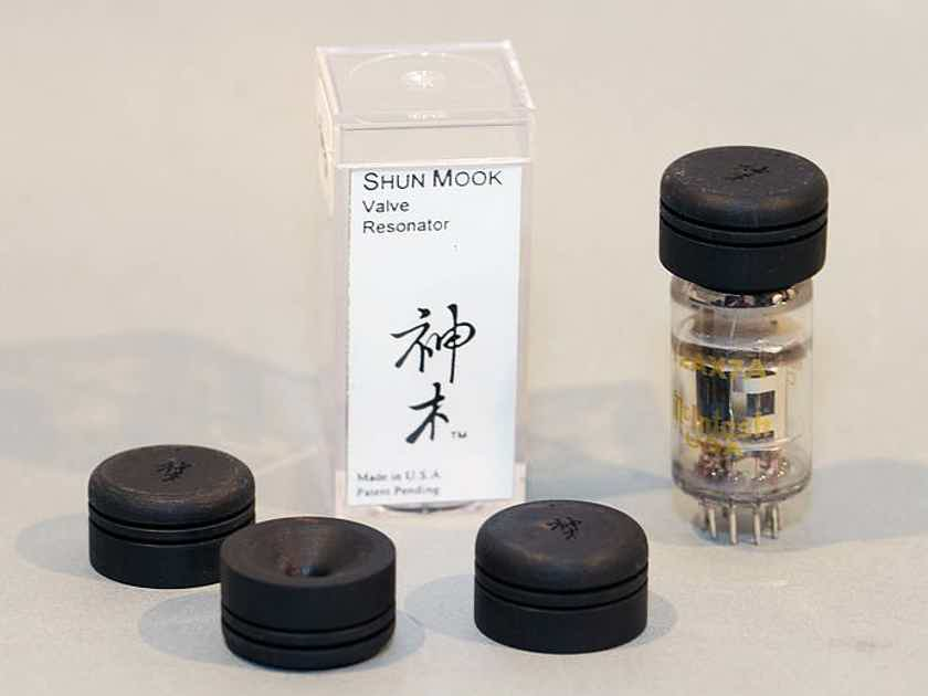 Shun Mook Audio Signal Tube Resonators -  enhance the performance of your tubes