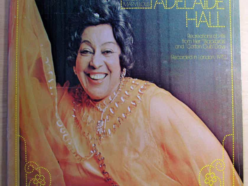 ADELAIDE HALL - THAT WONDERFUL ADELAIDE HALL - SEALED 1976 Monmouth-Evergreen Records MES77080