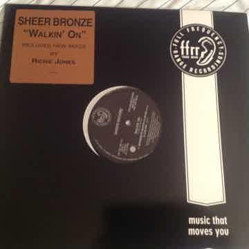 Sheer Bronze  Walkin On Promo 12 Inch Single FFRR Records