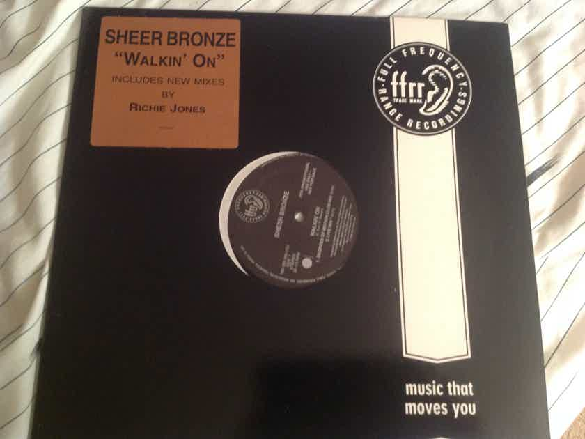 Sheer Bronze  Walkin On Promo 12 Inch Single FFRR Records