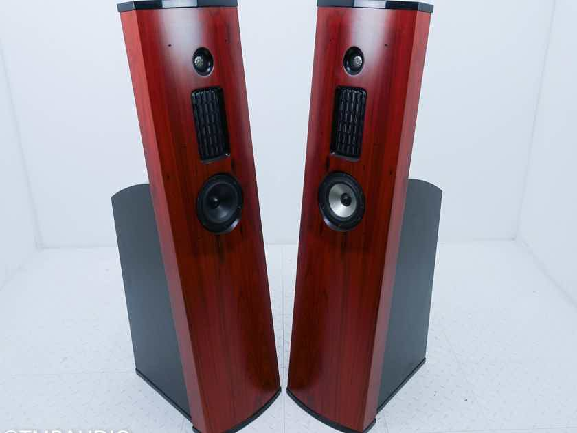 AV123 Onix Rocket Strata Mini Floorstanding Speakers Hybrid; Rosewood Pair (15239)