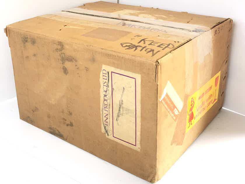Linn SONDEK LP 12 Transcription Turntable Record Player ONLY NEVER USED w/ Original Packing Box