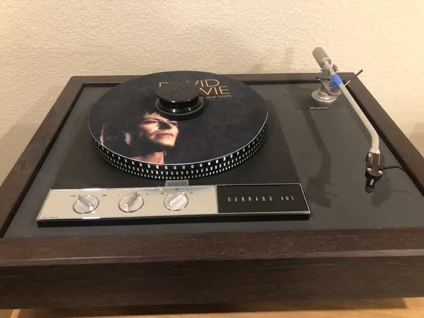 Garrard 401, Schick Tonearm, and Vinylista Plinth