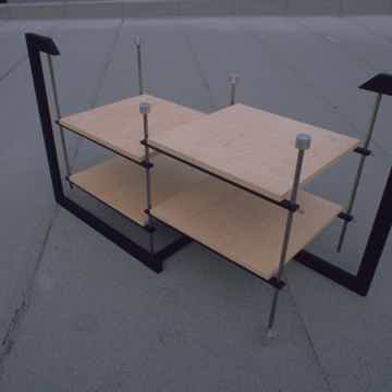 Parallel, isolation stand, semi suspension