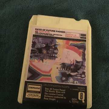 Moody Blues Days Of Future Past Quadraphonic 8 Track