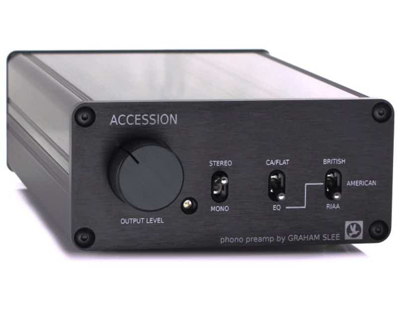 Graham Slee Accession C MC Phono Preamplifier; Black; Moving Coil (New) (22341)