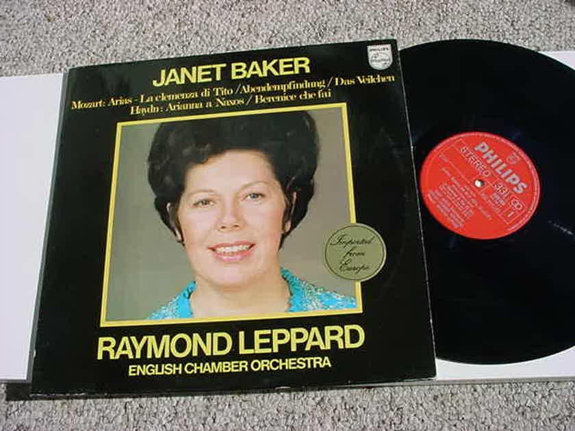 PHILIPS Classical Janet Baker Mozart Arias Haydn Arianna a Naxos Holland 1974