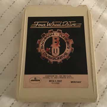 Bachman Turner Overdrive  Four Wheel Drive 8 Track Tape
