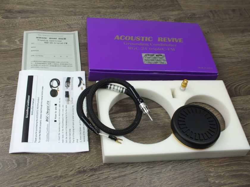 Acoustic Revive RGC-24 Triple-C FM Ground Conditioner BRAND NEW