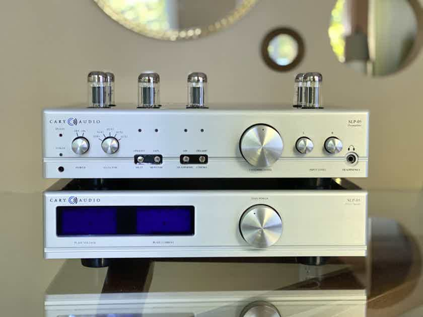 Cary Audio SLP-05 Ultimate and Kimber Wiring Upgrades - only 3 wks old!