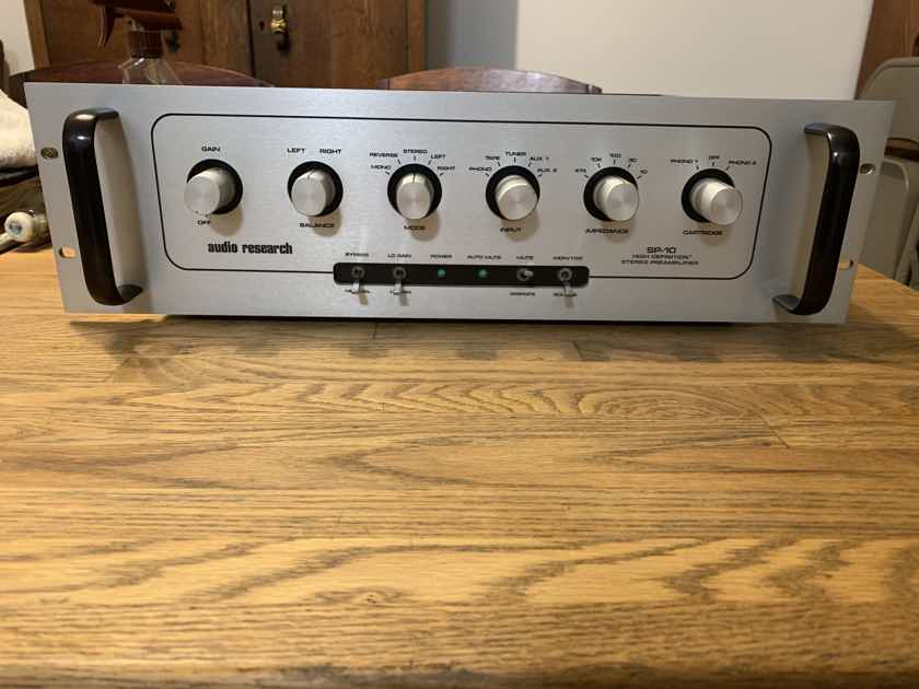 Audio Research SP-10 THE HOLY GRAIL   (REDUCED)!