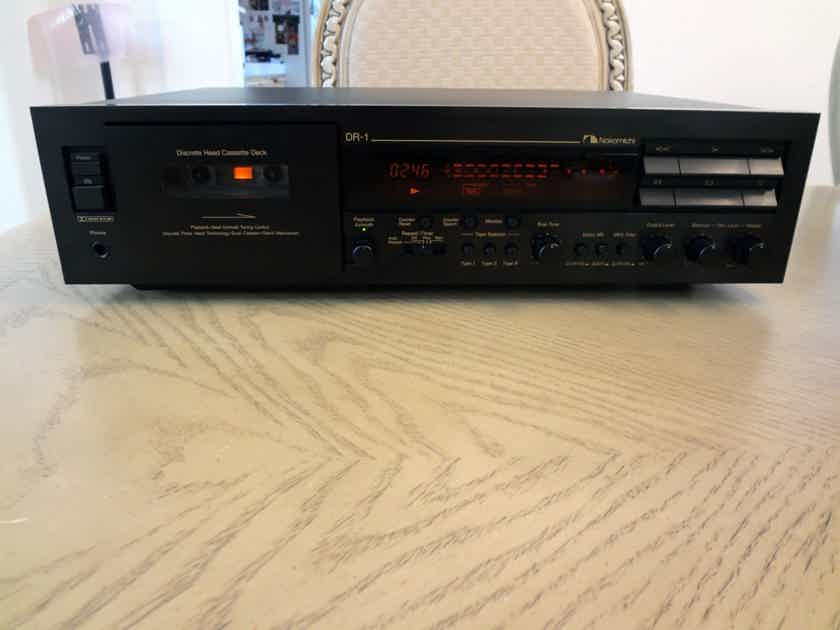Nakamichi DR-1 Three Head Player / Recorder in Original Box / New Belts