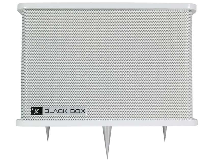 Synergistic Research Black Box - Low-Frequency Resonator Array - now also available in white finish
