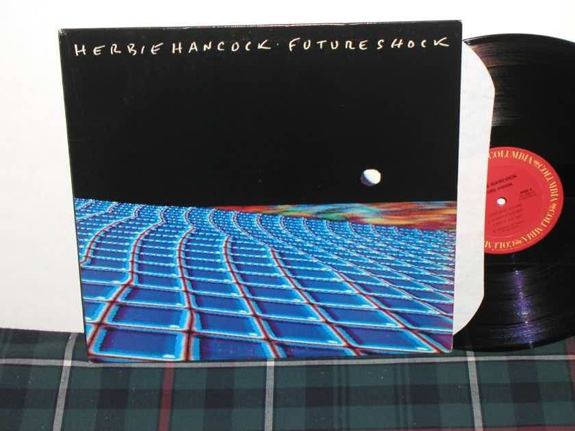 "Herbie Hancock         ""Future Shock"" - Columbia FC 38814 MASTERDISK matrixes"