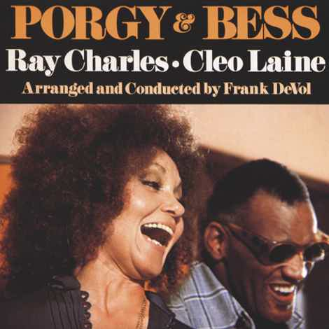 Ray Charles & Cleo Laine  Porgy and Bess - Two 45rpm LPs