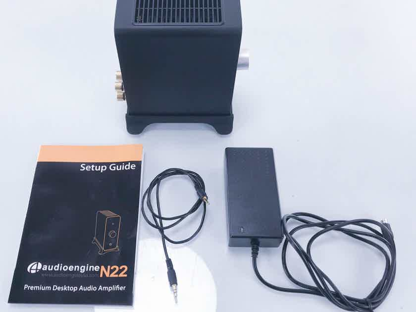 Audioengine N22 Stereo Integrated Amplifier; Desktop N-22 Headphone Amp (11868)