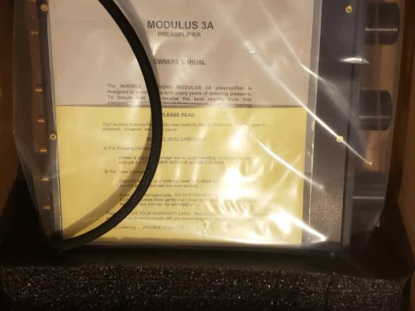 Audible Illusions M3A with MM Phono stage Factory Refurbished with 1 Year Warranty