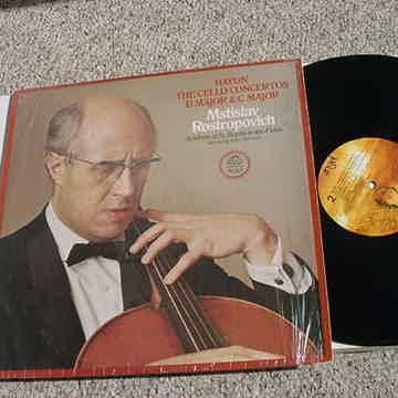 Haydn the cello concertos D Major C Major Mstislav Rost...