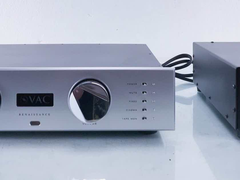 VAC Renaissance MKII Stereo Tube Preamplifier MM / MC Phono (13768)