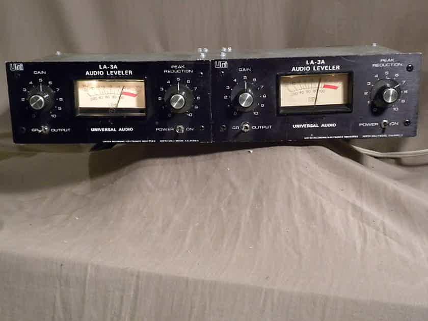 UREI Universal Audio LA-3A Limiter/Compressor Pair-- Rebuilt / Warranty
