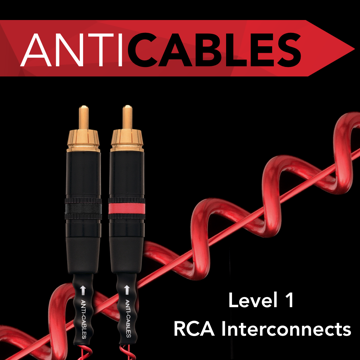 ANTICABLES Level 1 Classic Series RCA Analog Interconnects