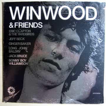 Steve Winwood - Winwood & Friends 1972 EX+ Vinyl LP Spr...