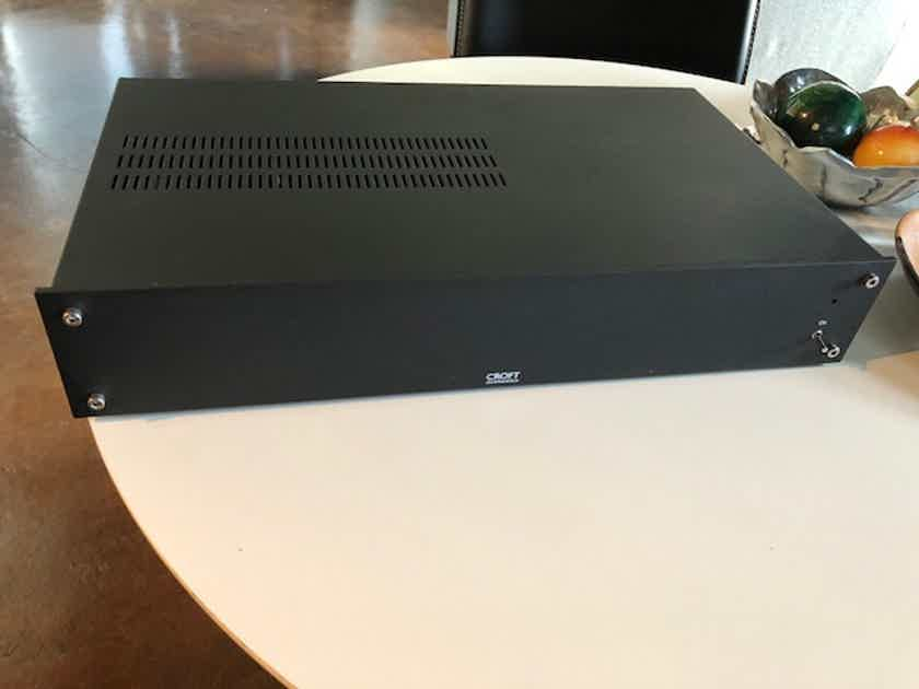 Croft Acoustics Series 7R Amplifier and 25R Preamplifier - Extras - Mint