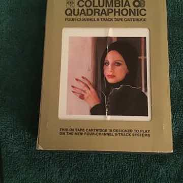Barbra Streisand  The Way We Were Quadraphonic 8 Track