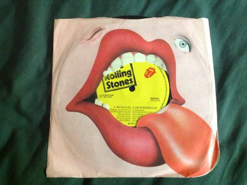 Rolling Stones - Brown Sugar/Bitch/Let It Rock Rolling Stones Records 3 Track 7 Inch  EP UK 1971