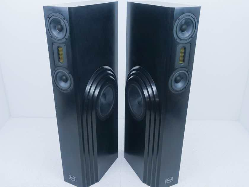 BMC Arcadia Bi-Polar Floorstanding Speakers Satin Black Pair (13306)