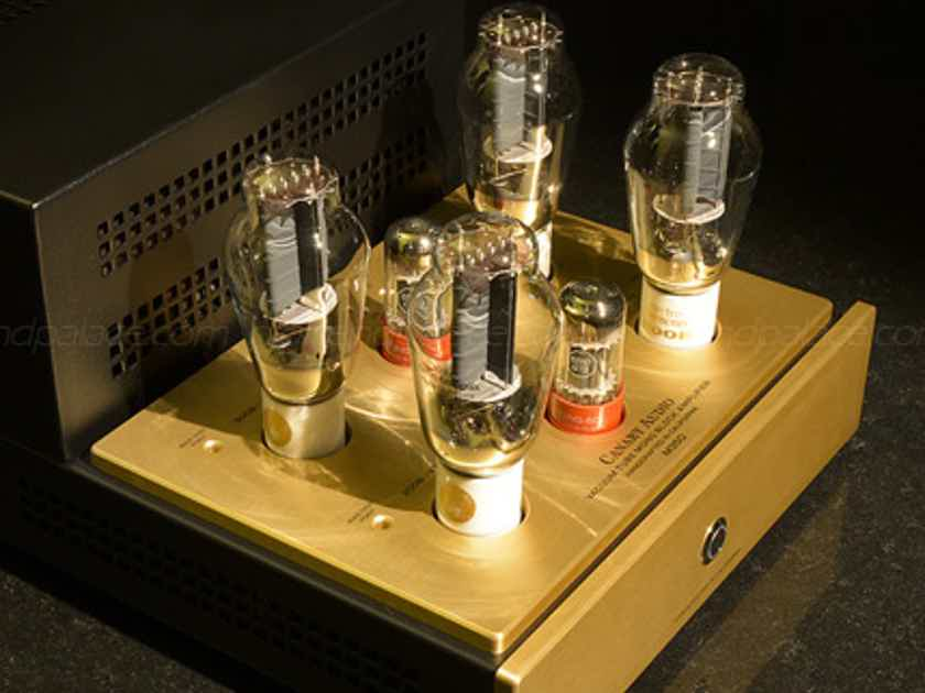 NEW! CA M350 Pure CLASS A Monoblocks with four 300B tubes per channel