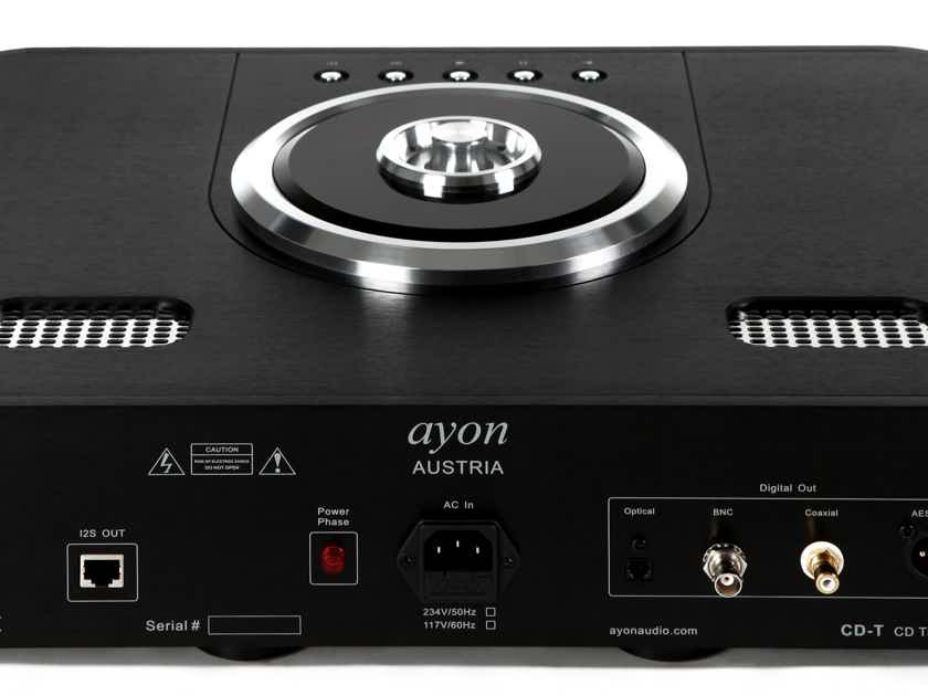 AYON AUDIO SIGMA+CDT TRANSPORT LIMITED QUANTITY