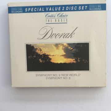 Dvorak symphony no9 no 8  Critics choice the basic double Cd 1990